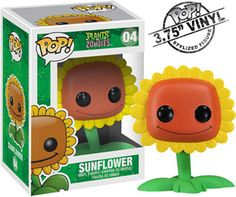 PvZ Pop! Vinyl Figurines -- now available for pre-order! Available July 5th. - I NEED THIS SUNFLOWERRRR