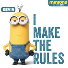 Kevin Makes The Rules. | Minions Movie | In Theaters July 10th