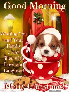 Good morning Wishing You And Your Family A Day Filled With Laughter Merry Christmas morning christmas merry christmas christmas quotes cute christmas quotes beautiful good morning quotes christmas good morning quotes good morning christmas quotes Christmas Morning Quotes, Cute Christmas Quotes, Christmas Quotes For Friends, Christmas Card Messages, Merry Christmas Pictures, Merry Christmas Quotes, Christmas Blessings, Christmas Christmas, Xmas Greetings