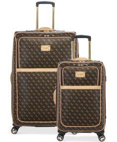 Guess Luggage Set Pink Mc Luggage