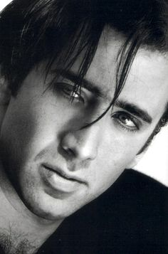 Nicolas Cage by Greg Gorman