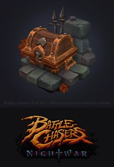 ArtStation - Battle Chasers fan art, Antonio Neves