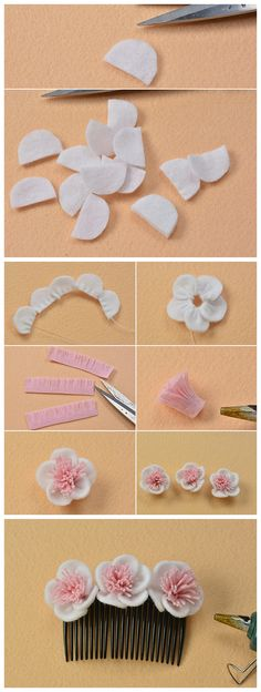 Common jewelry making mistakes beginners make and how to avoid them Cloth Flowers, Paper Flowers Diy, Handmade Flowers, Fabric Flowers, Zipper Flowers, Ribbon Flower, Ribbon Crafts, Flower Crafts, Fabric Crafts
