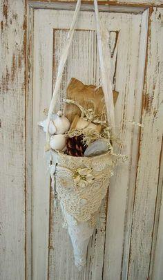 vintage lace cone