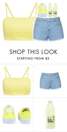 """""""sunshine yellow :))"""" by volleyballspikr ❤ liked on Polyvore featuring Ally Fashion, Qupid, women's clothing, women, female, woman, misses and juniors"""