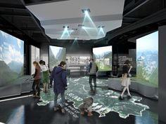 Jeollanamdo Suncheon defense of one's country Memorial Hall / 순천 호국기념관 Museum Exhibition Design, Exhibition Display, Exhibition Space, Design Museum, Interactive Exhibition, Interactive Walls, Interactive Design, Id Design, Hall Design