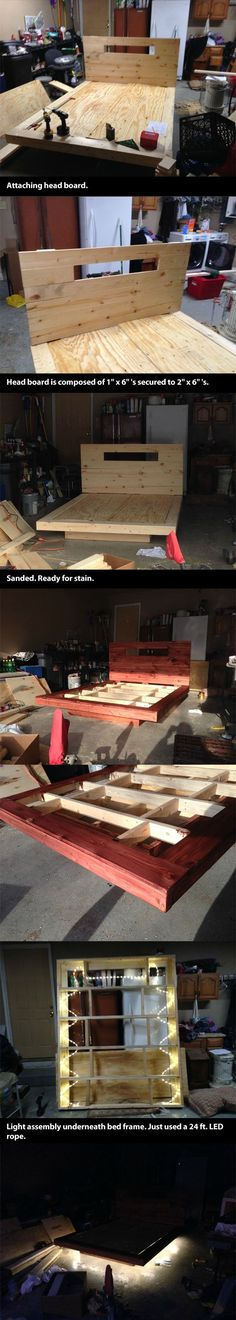 Building a levitating bed - Funny Pictures - Funny Photos - Funny Images - Funny Pics