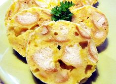 Mléčné houskové knedlíky ve folii Meat, Chicken, Breakfast, Madness, Morning Coffee, Cubs