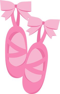 BALLET SHOES CLIP ART