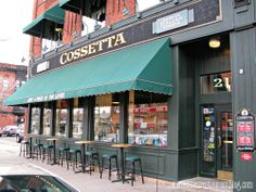 If you're bringing the whole family to a game, pizza is always a solid way to go. And it's tough to beat Cossetta's pizza by the slice. But you can also load up on pasta, or some cold salads and sandwiches.