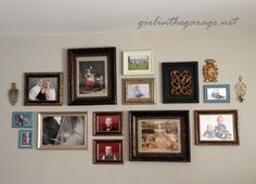How to Make a Gallery Wall Personal - By Girl in the Garage