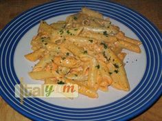 Penne pasta with Salmon and Vodka (Pennette al salmone affumicato e vodka) | Pasta recipes | Italian Recipes