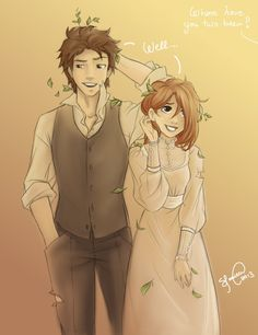Where have you two been? by Lukia-Lokelani on deviantART. So cute! Omg bro looks just like me xD vest and all