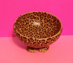 Handmade Leopard Print Bowl www.etsy.com/shop/myleopardspot
