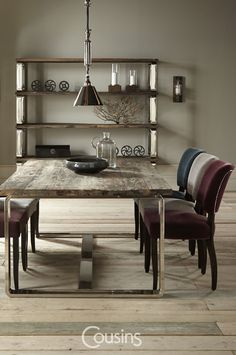 Menton offers a stylish range of natural dining and occasional furniture, combining vintage styles with contemporary finishes. Crafted with reclaimed wood from Chinese Junk boats give each piece a real character that no two items will share.