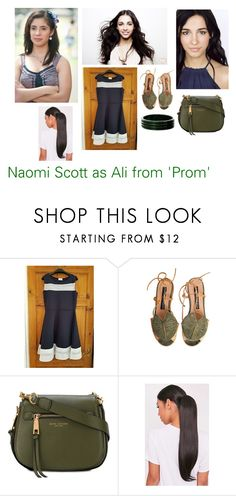 """""""Disney dream cast: Naomi Scott as Ali from 'Prom'"""" by sarah-m-smith ❤ liked on Polyvore featuring She's So and Marc Jacobs"""