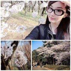 Alodia's sooo pretty just like the cherry blossoms