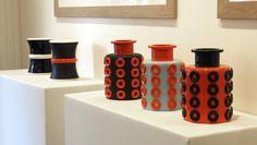Céramiques d' Olivier Gagnère, collection Parigi, Galerie Maeght, 2014
