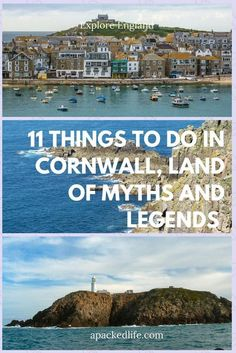 11 Things To Do In #Cornwall, Land of Myths and Legends - From wild coasts at Land's End and Tintagel to the fishing port of Mousehole, Cornwall's got all kinds of maritime pleasures. Visit the Lost Gardens of Heligan, the Eden Project and the arty community of St Ives to enjoy the beauty of this south west corner of #England.