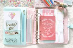 My Mint Kikki K Planner Set Up « ariestrash