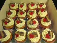 Doces Opções: Cupcakes de caramelo