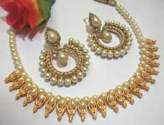 New Design of  Necklaces by shree mauli creation. Complete Collection Available at: http://www.indiebazaar.com/shop/shreemaulicreation/jewellery-sets?sort=mr