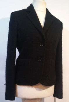 ESPRIT Short Black Blazer Jacket Size 12 #Esprit #Blazer #Jacket #Fashion #Ebay #Clothing