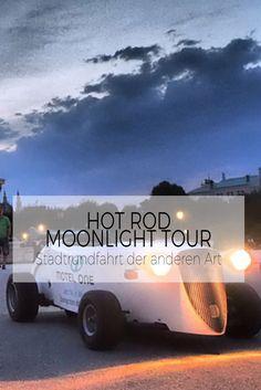 Eine Stadtrundfahrt der anderen Art, in einem Fahrzeug, das es so noch nie gegeben hat. Moonlight, Hot Rods, Tours, City, Vehicles
