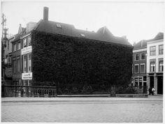 Dordrecht<br />Een foto uit 1912 van de Visbrug zonder Johan en Cornelis de Witt, het beeld zou in 1918 geplaatst worden