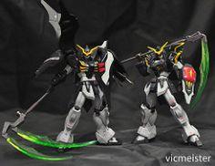 Robot Spirits Gundam Deathscythe and Deathscythe Hell (vicmeister00) Tags: