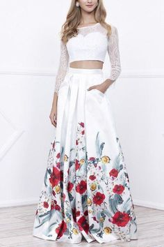 b79dee4978 Simply Fab Dress-sexy evening gowns · Shop 2 piece prom dresses  amp  hoco  dresses online. This two piece long sleeve