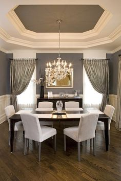 Love this dining room..