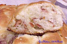 Buon Sabato amici oggi vi propongo un idea sfiziosa la ciambella di pan brioche senza glutine!La Ciambella di pan brioche senza glutine altro non è che una