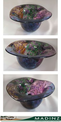Example Of News, Corporate Gifts, Shades Of Purple, Decorative Bowls, Personalized Gifts, Glass Art, Shells, Art Pieces, Photograph