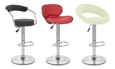Groupon - Bar Stools In Choice of Colour and Design: Two (£54.95) or Four (£109.9) With Free Delivery (63% Off) in [missing {{location}} value]. Groupon deal price: £54.95