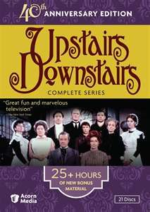 Upstairs, Downstairs.   Saw all of the episodes on Netflix.   Addicting.  Made me laugh and cry