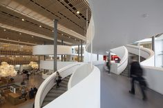 KUA2 – University of Copenhagen / Arkitema Architects. UA2 is the result of a first prize in an invited architectural competition. KUA2 is a new, central section of Copenhagen University, Southern Campus.
