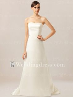 Bustier simple robe de mari�e pour le mariage informel BC548