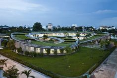 20 Must-See Buildings that have Breathing Lush Walls and Green Roofs - 10 Farming Kindergarten 2