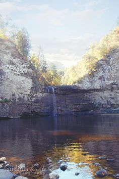 #Fall #Tennessee #Waterfalls #Blue Sky  www.facebook.com/hunterphotos13