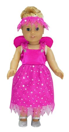 18 Inch American Girl Doll Clothes Patterns Fairy Costume