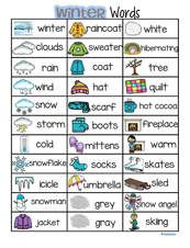 This is a concise page of words that can be used with a WINTER theme, for sight reading, story ideas, picture/word linking, and other literacy activities. This page lists the 32 words featured in the KidSparkz packet WINTER Kindergarten Classroom Decor, Preschool Literacy, Kindergarten Writing, Literacy Activities, Summer Preschool Themes, Kindergarten Literacy Stations, Leadership Activities, Free Preschool, Vocabulary List