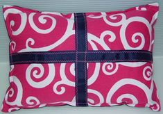 A personal favorite from my Etsy shop https://www.etsy.com/listing/85408054/suess-swirl-pillow-sale-hot-pink-modern