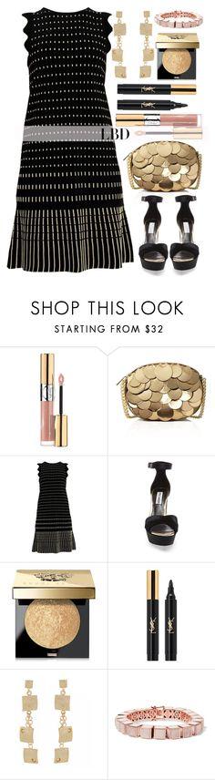 """""""Little Black Dress"""" by alaria ❤ liked on Polyvore featuring Yves Saint Laurent, MICHAEL Michael Kors, Ted Baker, Steve Madden, Bobbi Brown Cosmetics, Eddie Borgo and LBD"""