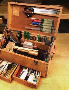Tool chest. #woodworkingfurniture