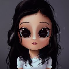 Cartoon, Portrait, Digital Art, Digital Drawing, Digital Painting, Character Design, Drawing, Big Eyes, Cute, Illustration, Art, Girl, Stuck in the Middle, Ronni, Hawk, Hair, Disney, Channel