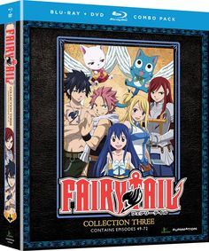 Fairy Tail DVD/Blu-ray Collection 3 (Hyb) #RightStuf2014