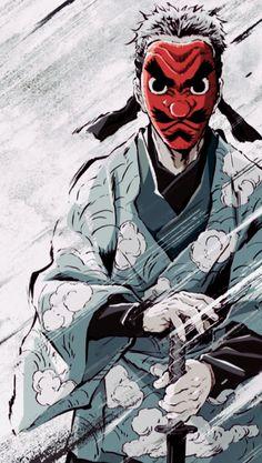 Demon Slayer_Kimetsu no Yaiba_ Otaku Anime, Manga Anime, Anime Demon, Manga Art, Anime Boys, Cool Anime Wallpapers, Animes Wallpapers, Character Art, Character Design