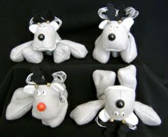 How-to-make-bean-bag-reindeer with free pattern