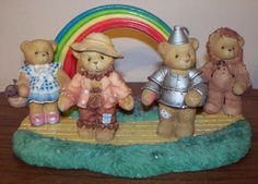 Cherished Teddies Wizard of Oz - I would loooooooove to add this to my CT collection!!!